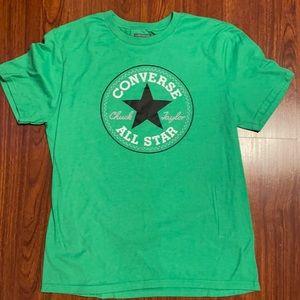 Mens Green Converse Shirt